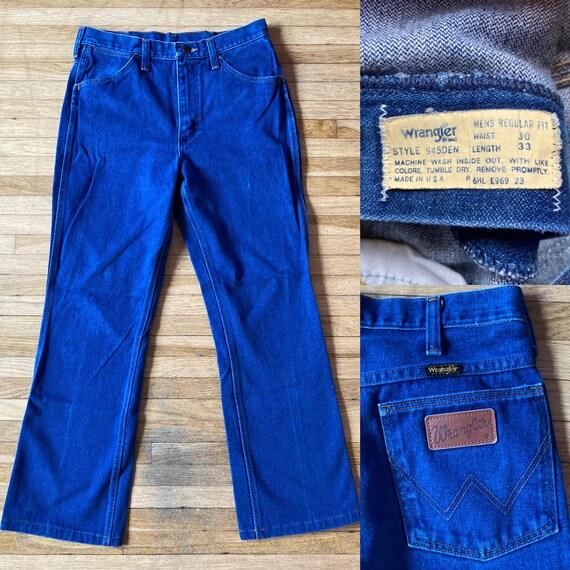 Vintage 70s Wrangler Jeans / Vintage Wrangler Jean