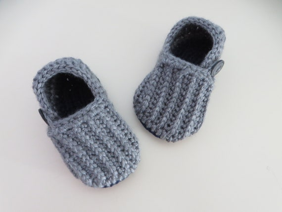 Unisex Baby Loafers Crochet Baby