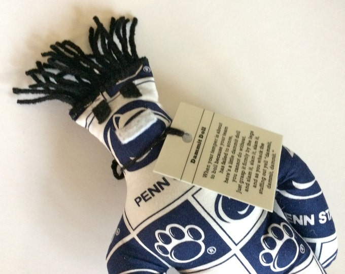 Dammit Doll, Penn State University, Classic Square Fabric, stress relief item