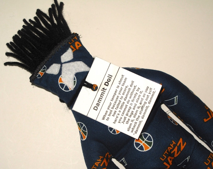 Dammit Doll, Utah Jazz, basketball stress relief item