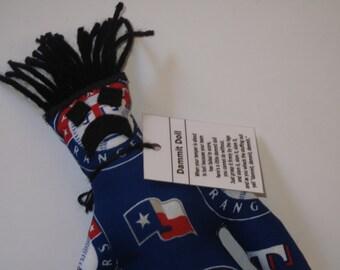 Dammit Doll, Texas Rangers, baseball stress relief item