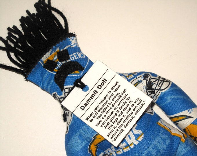 Dammit Doll, Los Angeles Chargers, stress relief item