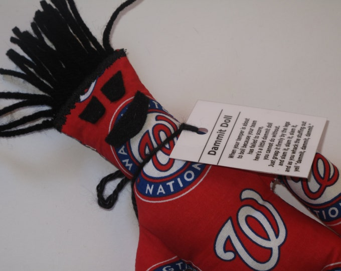 Dammit Doll, Washington Nationals, baseball stress relief item