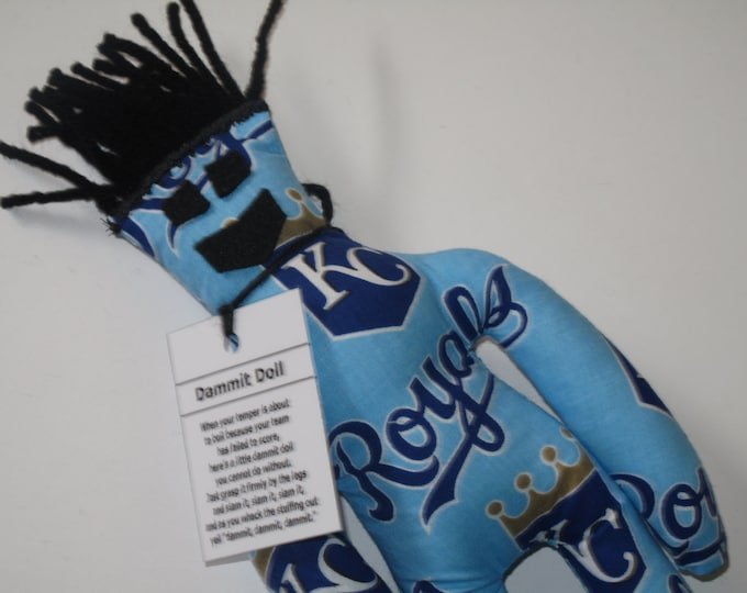 Dammit Doll, Kansas City Royals, baseball stress relief item