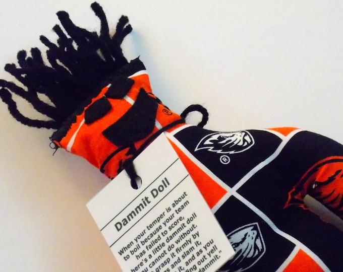 Dammit Doll, Oregon State Beavers, School Fabric, stress relief item
