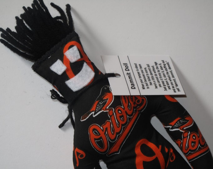 Dammit Doll, Baltimore Orioles, baseball stress relief item