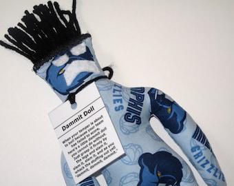 Dammit Doll, Memphis Grizzlies, basketball stress relief item