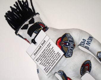 Dammit Doll, New Orleans Pelicans, basketball stress relief item