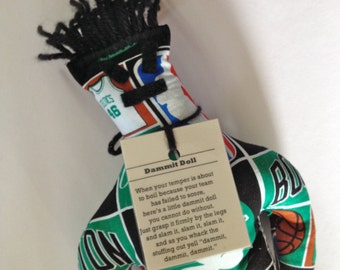 Dammit Doll, Boston Celtics, basketball stress relief item