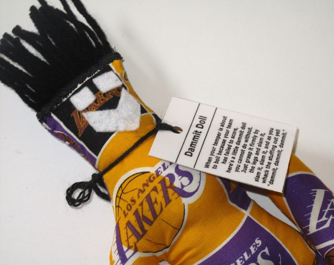 Dammit Doll, LA Lakers, basketball stress relief item