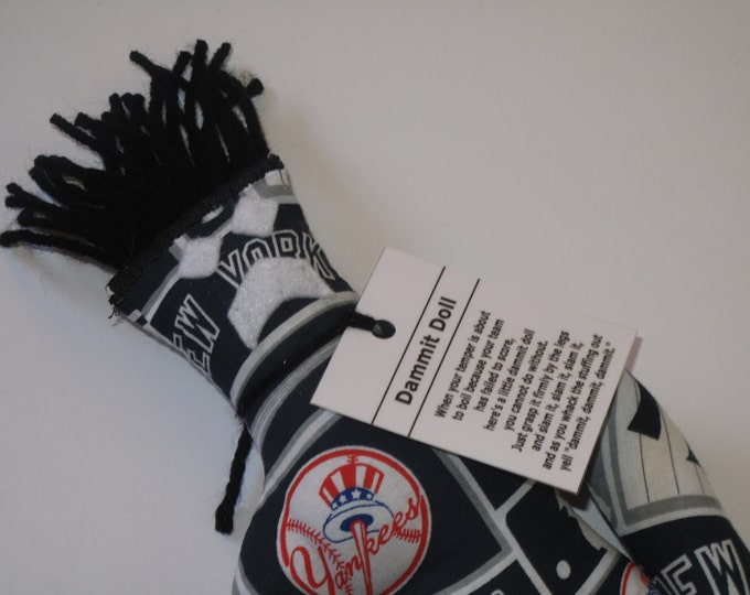 Dammit Doll, New York Yankees, baseball stress relief item