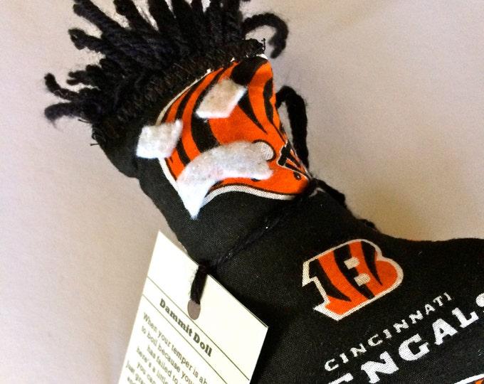 Dammit Doll, Cincinnati Bengals, football stress relief item