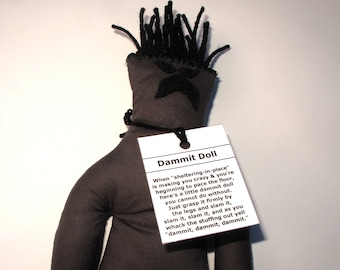 Isolation Dammit Doll, stress relief item