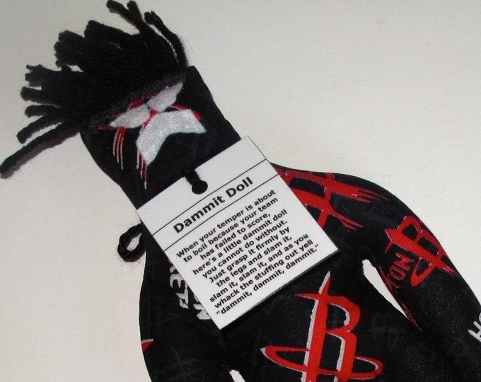 Dammit Doll, Houston Rockets, basketball stress relief item