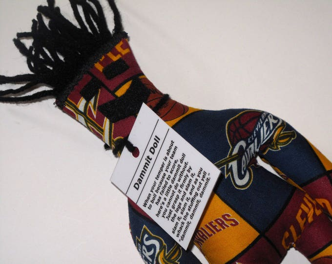 Dammit Doll, Cleveland Cavaliers, basketball stress relief item