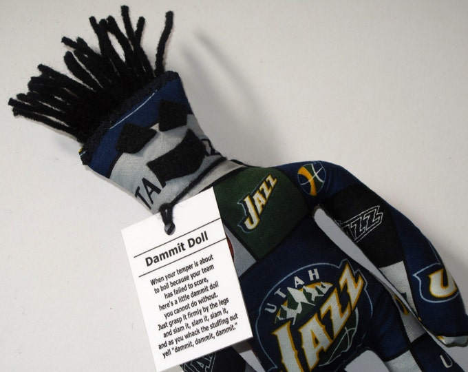 Dammit Doll, Utah Jazz, basketball stress relief item