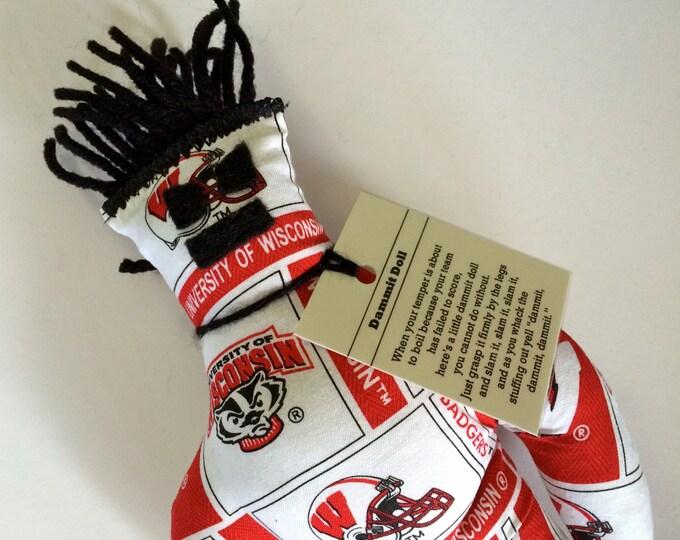 Dammit Doll, University of Wisconsin, Team Fabric, stress relief item