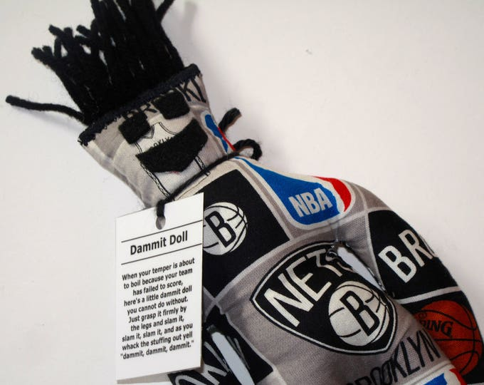 Dammit Doll, Brooklyn Nets, basketball stress relief item