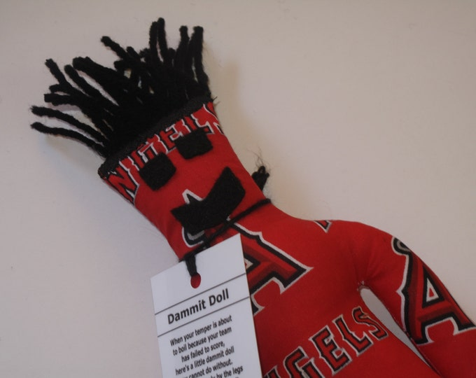 Dammit Doll, LA Angels, baseball stress relief item