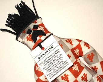 Dammit Doll, University of Texas, Team Fabric, stress relief item