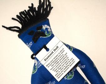 Dammit Doll, Dallas Mavericks, basketball stress relief item