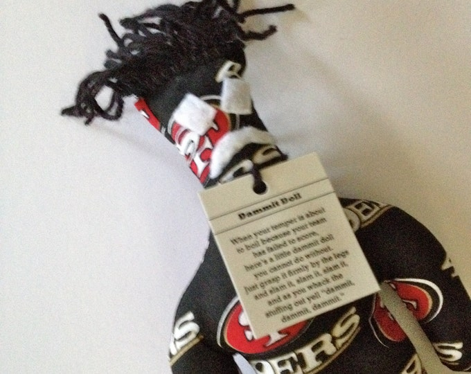 Dammit Doll, San Francisco 49ers, football stress relief item