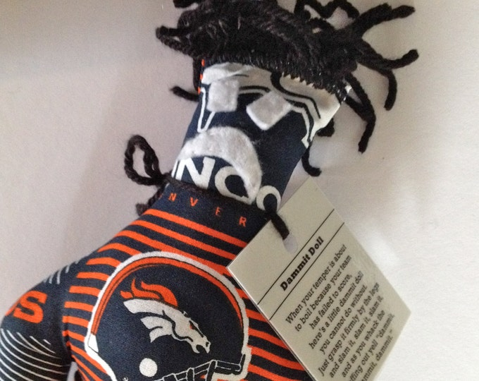 Dammit Doll, Denver Broncos, football stress relief item
