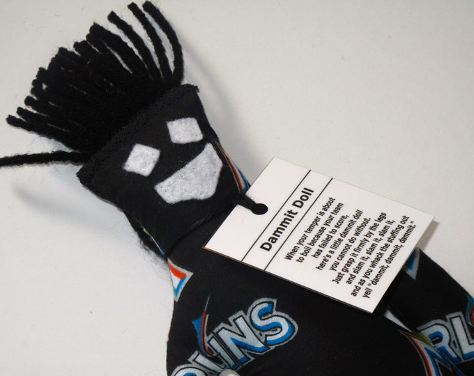 Dammit Doll, Miami Marlins, baseball stress relief item