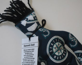 Dammit Doll, Seattle Mariners, baseball stress relief item