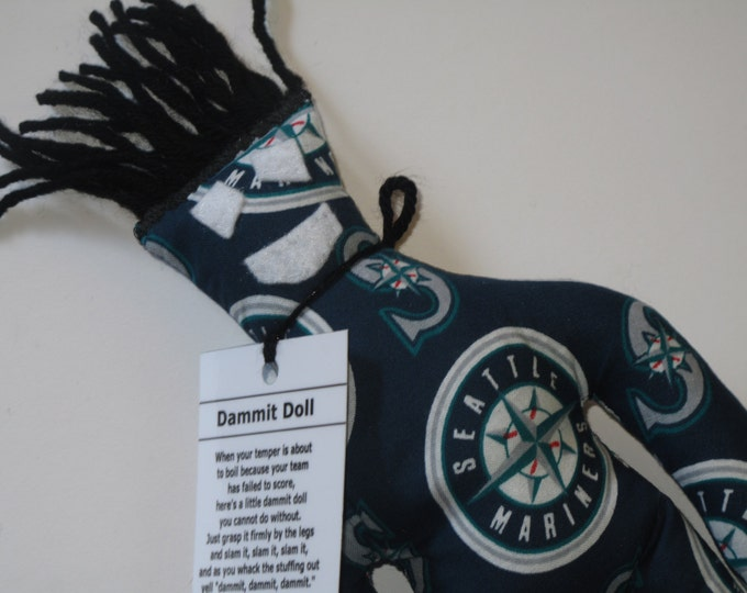 Dammit Doll, Seattle Mariners, baseball stress relief item