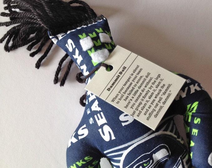 Dammit Doll, Seattle Seahawks, stress relief