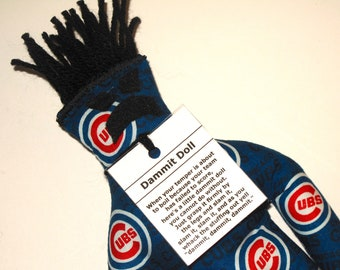 Dammit Doll, Chicago Cubs, baseball stress relief item