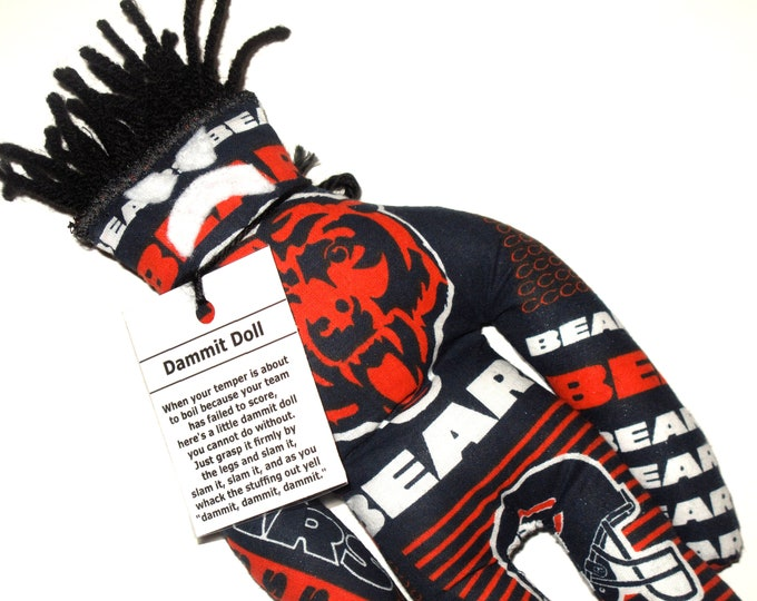 Dammit Doll, Chicago Bears, stress relief item