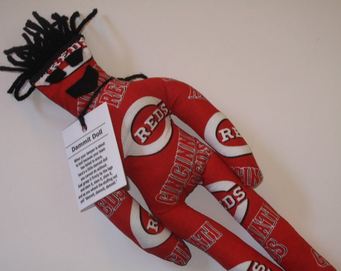 Dammit Doll, Cincinnati Reds, baseball stress relief item
