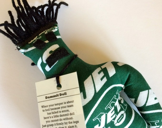 Dammit Doll, NY Jets, football stress relief item