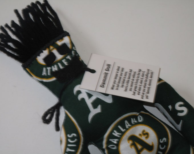 Dammit Doll, Oakland Athletics, baseball stress relief item