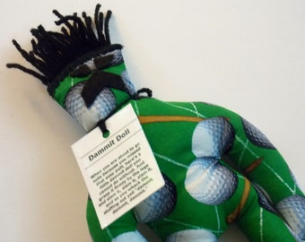 Golf Dammit Doll, stress relief item for the avid golfer