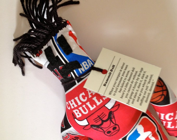 Dammit Doll, Chicago Bulls, basketball stress relief item
