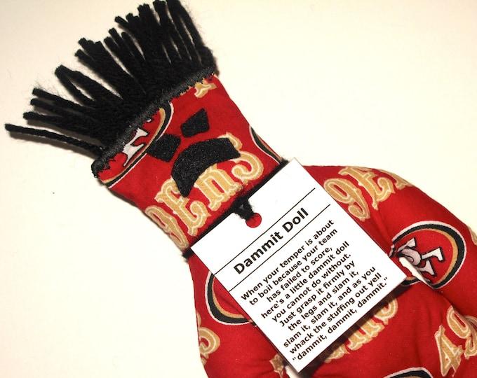 Dammit Doll, San Francisco 49ers, football stress relief item
