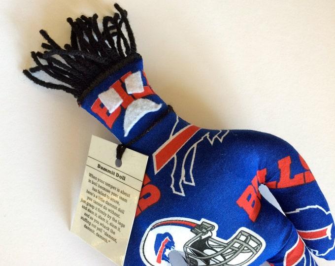 Dammit Doll, Buffalo Bills, football stress relief item