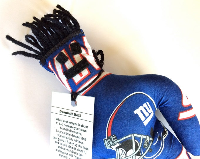 Dammit Doll, New York Giants, football stress relief item