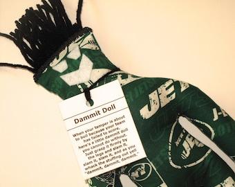 Dammit Doll, NY Jets, football stress relief item