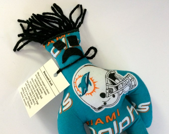 Dammit Doll, Miami Dolphins, football stress relief item