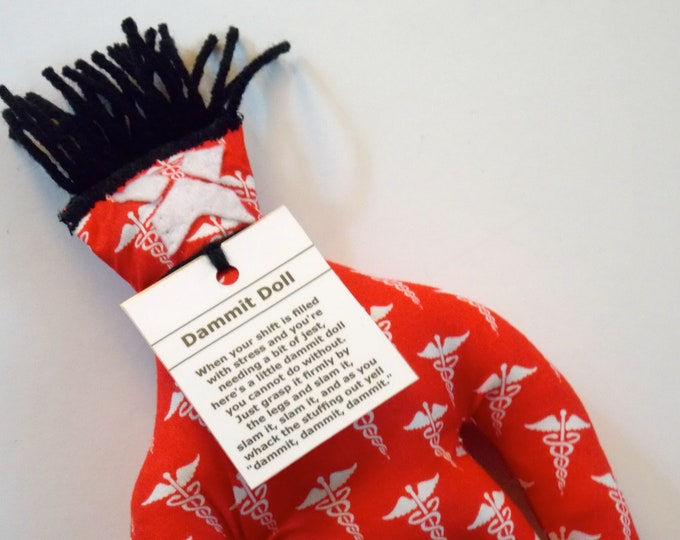 Nurse Dammit Doll, stress relief item