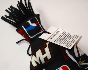 Dammit Doll, Miami Heat, basketball stress relief item
