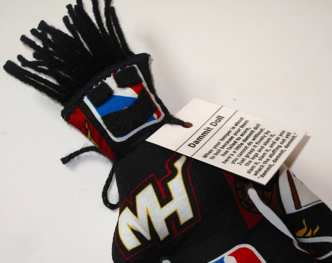 Dammit Doll, Miami Heat, basketball stress relief item