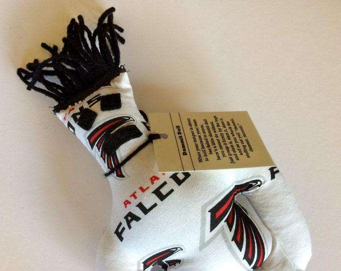 Dammit Doll, Atlanta Falcons, football stress relief item