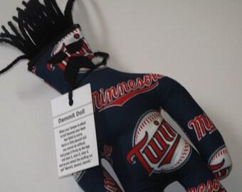 Dammit Doll, Minnesota Twins, baseball stress relief item