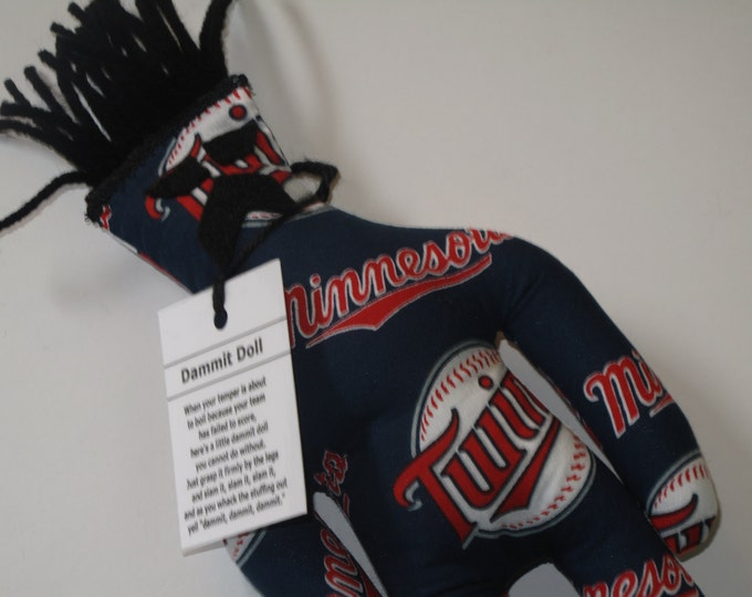 Dammit Doll, Minnesota Twins, baseball stress relief item