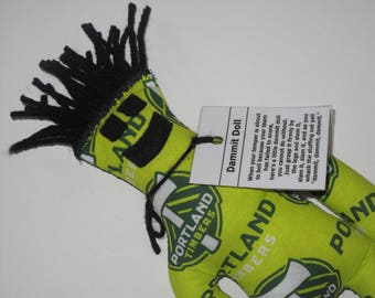 Dammit Doll, Portland Timbers, soccer stress relief item